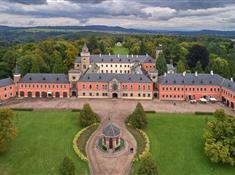 Zámek Sychrov: prohlédněte si luxusní interiéry novogotické rezidence rodu Rohanů