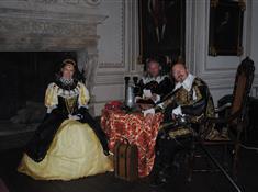 Audience Albrechta z Valdštejna na zámku Frýdlant
