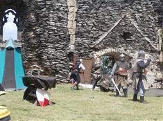 Šermíři Corvus Milites na Bezdězu