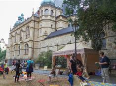 Letní piknik u muzea
